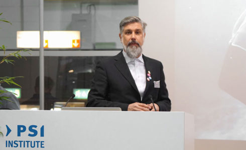 Ingo Moeller bei seinem Vortrag auf der PSI 2016