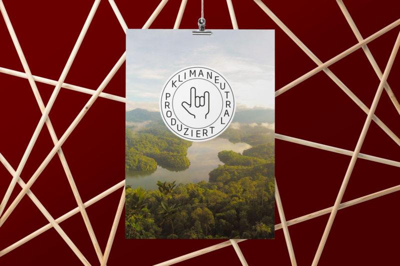 Kampagne Klimaneutral für Mahlwerck Porzellan von Ingo Moeller